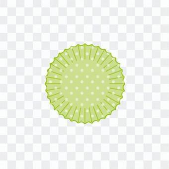 矽杯(圓點和綠)