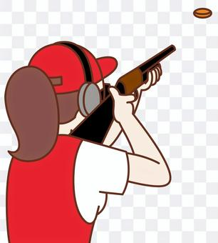 Olympic clay pigeon shooting