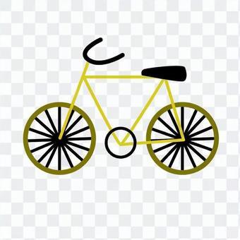 黄色自行车
