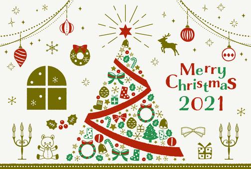 聖誕框架插圖集 2021
