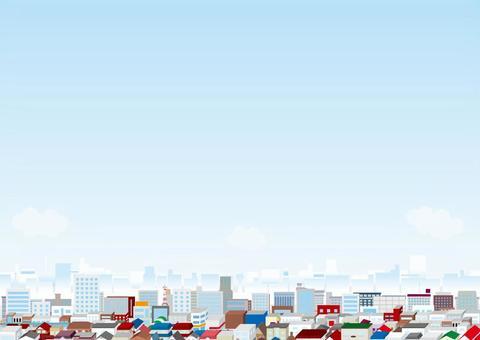 城市景觀系列背景