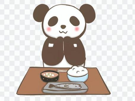 Pandas to join hands in a meal