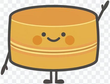 食物角色[Imagawayaki]