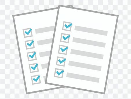 資料 複数 重なる ファイル 書類
