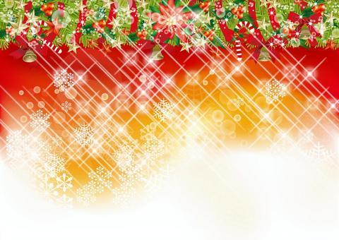 Christmas wreath & snow 38