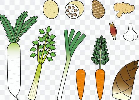 野菜4大根