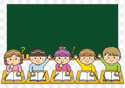 男人和女人13_05(學習,教室,黑板)