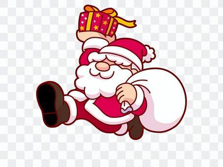 聖誕老人,能源,禮物交付
