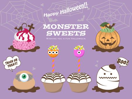 Halloween_Monster Sweets