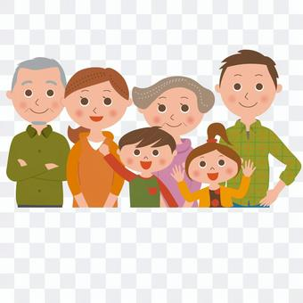 6-person family