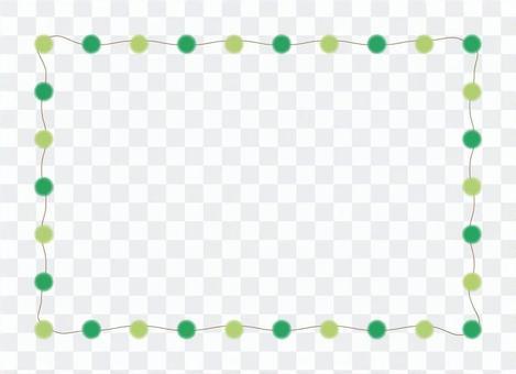 綠色圓點框架