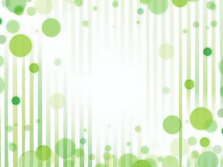 """Foam stripe frame """"Green"""""""