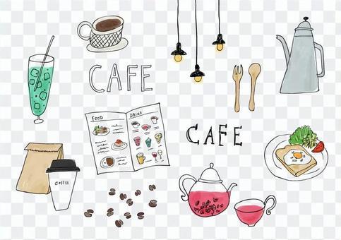 카페 / 그린 바람