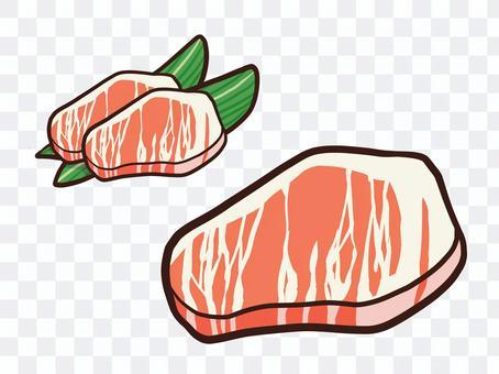 免費生肉牛排