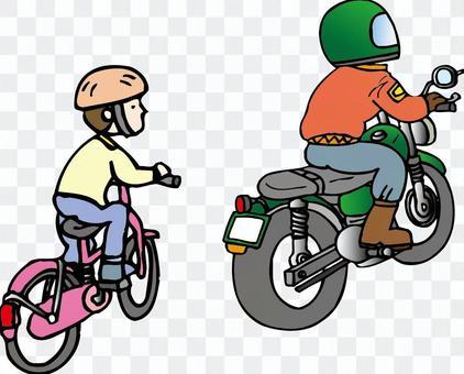 自行车和自行车