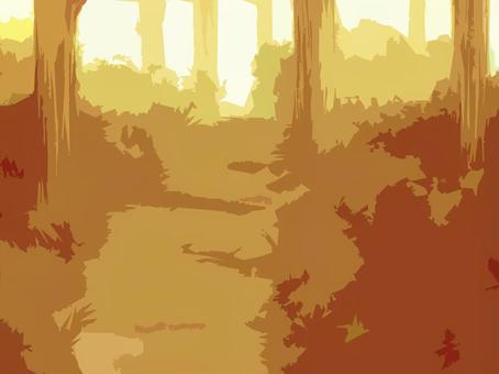 背景圖02(夜間森林加工)