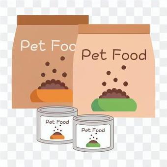 寵物食品(袋裝和罐裝)