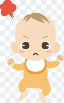 B310_赤ちゃん_怒る