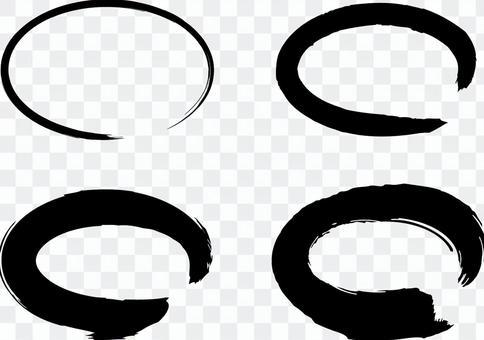 黑色筆黑色筆刷材料2