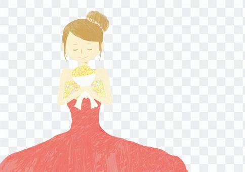 婚礼的女人