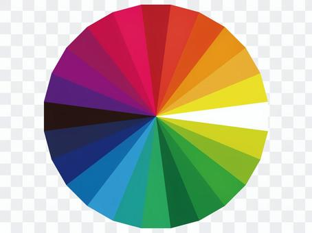 24種顏色