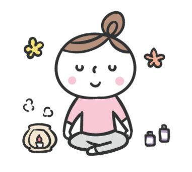 Yoga / Meditation / Aroma / Women / Relax
