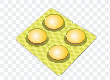 平板電腦黃色色調