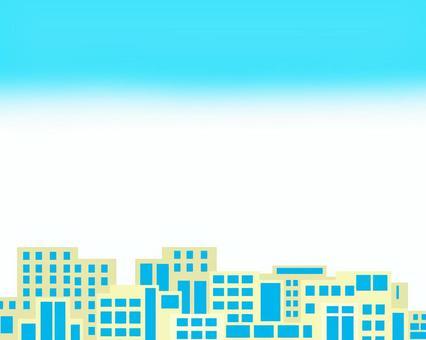 Cityscape frame