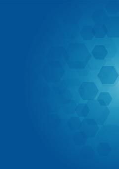 藍色六邊形圖案背景