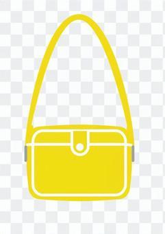 單肩包(黃色)