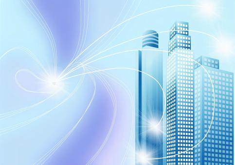 Building frame · IT communication network