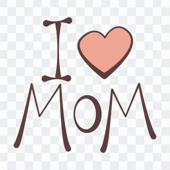 爱你的妈妈标志