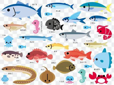 各種魚2_B