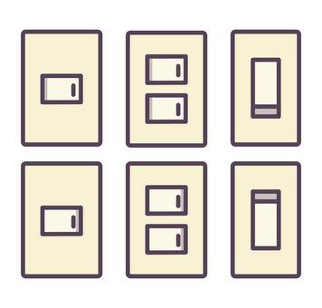 6種照明開關