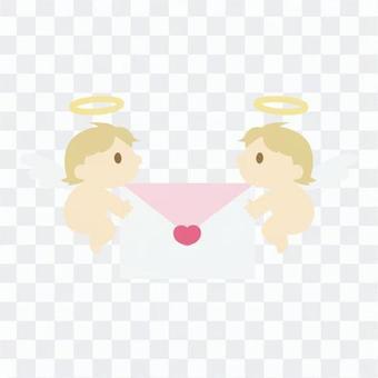 信件和天使