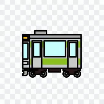 火车的插图(普通车辆)