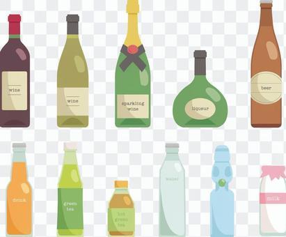 瓶各種_ 02 _酒精和飲料