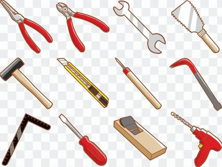 工具12件套