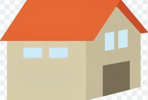 房子【橙色】