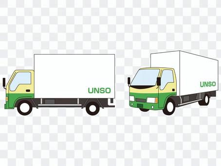Trucking company Courier