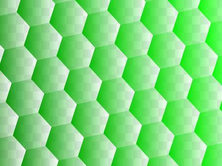 六角タイル「緑」