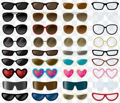套太陽鏡和眼鏡01