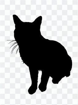 剪影2貓2
