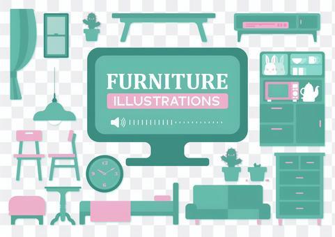 家具材料收集