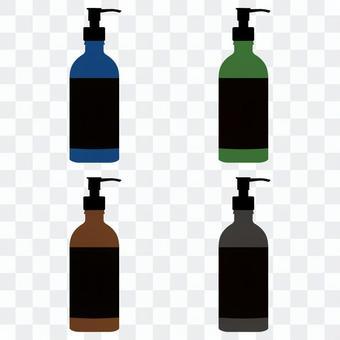 各種顏色的瓶子①