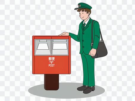 郵箱和郵遞員