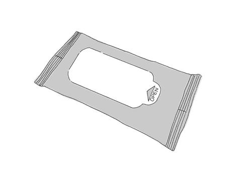 濕巾11(黑白)