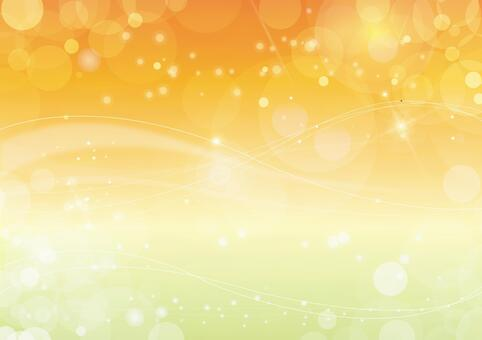 Glitter background material Yellow