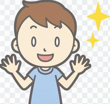 男孩短袖a  - 情感 - 胸圍