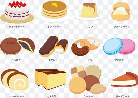 12種糖果和甜食